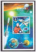 0444 Somalia 1999 NASA Spaceshuttle Astronaut S/S MNH - Africa