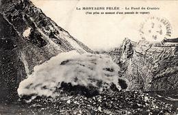 Thematiques Martinique La Montagne Pelée Le Fond Du Cratère Envoi De Fort De France Daté Main 20 Juillet 1916 - Fort De France