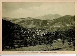 CP Italie - ALBANIO - Panorama Con Lisignago N° 837 Ft 60 - Trento