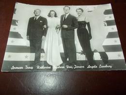 B704  Spencer Tracy Katherine Hepburn Van Jonson Angela Lansbury Non Viaggiata - Attori