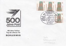 PU 314/12b  500 Jahre Post - 100 Jahre Telefon - Tag Der Offenen Tür, Schleswig 1 - BRD