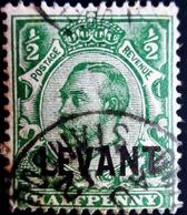 Colonies Britannique Surcharge LEVANT    Oblitéré Used - Levant Britannique