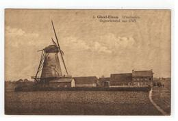 2. Gheel-Elsum  Windmolen  Dagteekenend Van 1765 - Geel