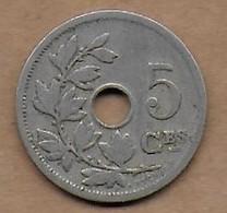 5 Centimes 1904 FR - 1865-1909: Leopold II