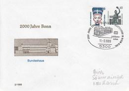 PU 318/7  2000 Jahre Bonn - Bundeshaus, Bonn 1 - BRD
