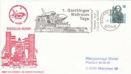 PU 322 B1/5   ENERGIJA - BURAN  Archiv Der Astronimie Und Raumfahrt-Philatelie 5, Garching B München - BRD