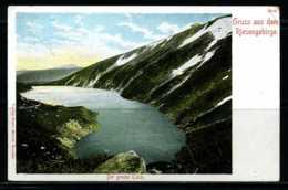 K02678)Ansichtskarte Gruss Aus Dem Riesengebirge - Böhmen Und Mähren