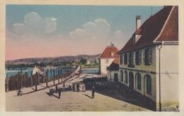 CHALAMPE (Haut-Rhin) - Le Pont Du Rhin Et La Maison De La Douane - Chalampé