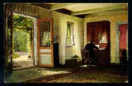 K02852)Ansichtskarte Dänische Kunst - Sigvard Hansen: Im Studierzimmer - Dinamarca