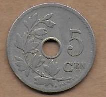5 Centimes 1906 FL - 1865-1909: Leopold II