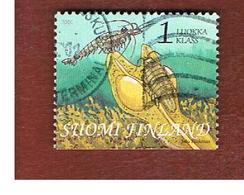 FINLANDIA (FINLAND) -  SG  1649   -    2001 GULF OF FINLAND: MARINE LIFE   -       USED ° - Finlandia
