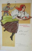 """Ostern, Frauen, Männer, Korb"" 1909 ♥  - Kinder"