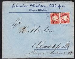 LETTRE DE 1899 POUR LA SUISSE - ( LA CHAUX DE FONDS)  - V/IMAGE - Bavière