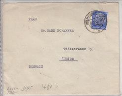 LETTRE CENSUREE POUR LA SUISSE - 1941 - Allemagne