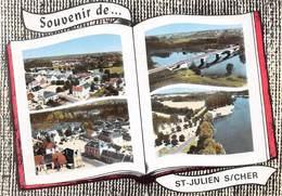 SAINT-JULIEN-sur-CHER - Vues Multiples - Livre Ouvert - France