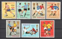Paraguay 1969 - MNH - SOCCER FUSSBALL - Zonder Classificatie