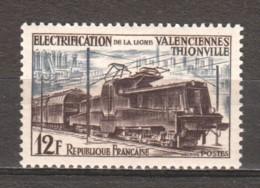 France 1955 Mi 1049 MNH TRAINS - Frankreich