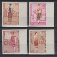 LAOS  1973  NON DENT / IMPERF  COSTUMES  **MNH  Réf  252 - Laos