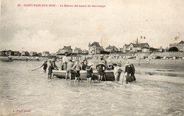 SAINT PAIR  SUR  MER....retour Du Canot De Sauvetage - Saint Pair Sur Mer