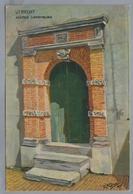 NL.- UTRECHT. ACHTER CLARENBURG. D.A. DONS. Schilder. Pastel Dons - K 738. - Schilderijen