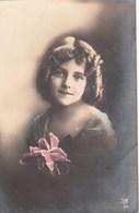 Grete Reinwald With Flower - Ritratti