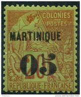 Martinique (1888) N 4 * (charniere) - Martinique (1886-1947)