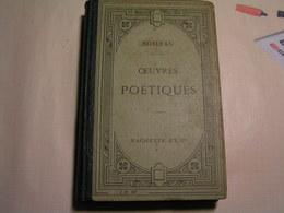 Livres - Oeuvres Poétiques De Boileau Précédées D'une Notice Biographique Et Littéraire - 8 ème Edition - Poésie