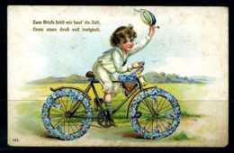 K03419)Ansichtskarte Rad-Motiv Ca. 1910 - Radsport