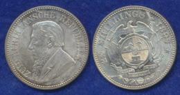 Südafrika 2 1/2 Sh. 1897 Paul Krüger Ag925 - Afrique Du Sud