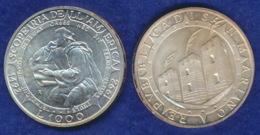 San Marino 1000 Lire 1992 Entdeckung Amerikas Ag835 - Saint-Marin