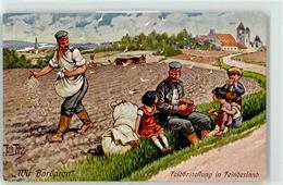 52372023 - Wir Barbaren - Feldbestellung In Feindesland - Brot Essen - Soldat - Thiele, Arthur