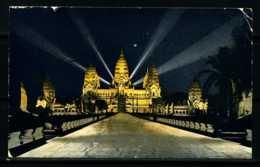 K04010)Ansichtskarte Angkor Vat 1931 - Kambodscha