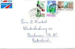 INDONESIE. N°1062 De 1985 Sur Enveloppe Ayant Circulé. Décennies Pour Les Femmes. - Indonesia