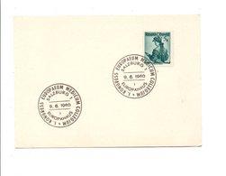 AUTRICHE CONGRES DE MEDECINE à SALZBURG 1960 - Medizin