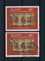 Island 2000 Bischöfe Mi.Nr. 941 ** + Gestempelt - 1944-... Republik