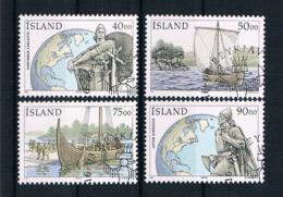 Island 2000 Schiffe Mi.Nr. 945/48 Kpl. Satz Gestempelt - 1944-... Republique