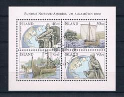 Island 2000 Schiffe Block 26 Gestempelt - 1944-... Republique