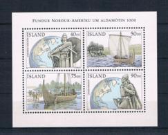 Island 2000 Schiffe Block 26 ** - 1944-... Republik