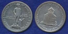 USA 1/2$ 1925 Lexington Und Concord Ag900 - Federal Issues