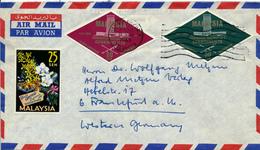 KUALA LUMPUR / Malaysia - 1963 , 9. Commenwealth Conference , 4. Orchideen Conference - Nach Frankfurt / M - Malaysia (1964-...)