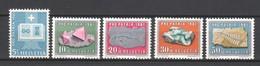 Switzerland 1961 Mi 731-735 MNH PRO PATRIA - Pro Patria