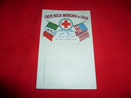 Cartolina Croce Rossa Americana In Italia - Croce Rossa