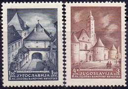 YUGOSLAVIA - CROATIA - NDH - OLD CHATEDRAL - PHILATELIC EXHIBITION - **MNH - 1941 - Croazia