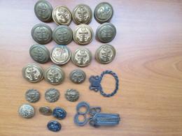 Lot De Bouton Ancien - Buttons