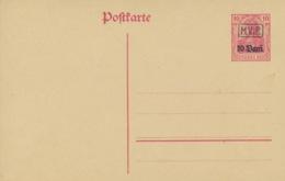 Deutsche Militärverwaltung In Rumänien Ganzsache P1 * - Besetzungen 1914-18
