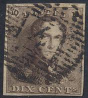 épaulette - N°1 Obl P4 Anvers - 1849 Epaulettes