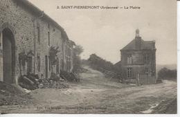 CPA - SAINT PIERREMONT - LA MAIRIE - EDITEUR VVE SERIPPE N° 3 - Andere Gemeenten