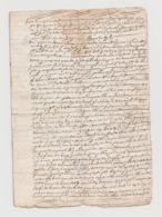 1760 - Lettera Manoscritta Sulla Vendita Di Terreni (Luogo: Sardegna, Lingua: Spagnolo). - Manoscritti