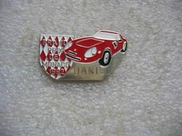 Pin's Automobile FERRARI Au Grand Prix De Monaco 1992 - Ferrari
