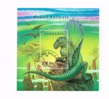 Dinosaure. Yvert BF 229 - Tanzania (1964-...)